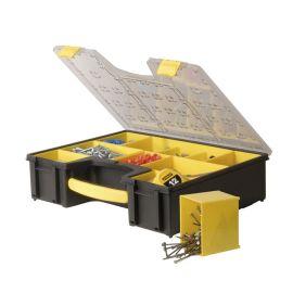 Boite Organiser pro 8 compartiments amovibles Stanley 1-92-749 pas cher
