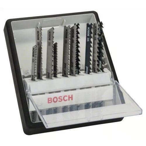 Kits de 10 lames de scie sauteuse Bosch Wood Expert, Robust Line photo du produit