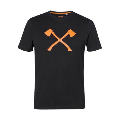 T-shirt unisexe Stihl Axe photo du produit