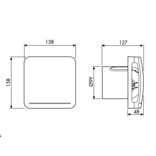 Aérateur permanent Unelvent série Vemrea photo du produit Secondaire 1 L