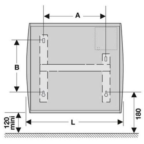 Radiateur NIRVANA Digital blanc  ATLANTIC photo du produit Secondaire 1 L