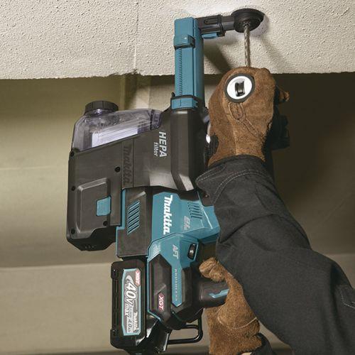 Perforateur SDS-Plus sans-fil 40 V 28 mm (machine seule) en coffret Makpac - MAKITA - HR002GZ02 pas cher Secondaire 8 L