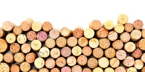 Stacked Wine Corks