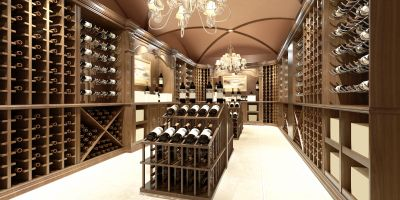 Large Personal Wine Cellar