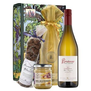 Two Exceptional White Wines & Gourmet Treats