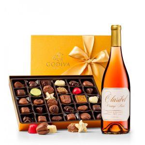 Godiva Chocolates & A Choice of Wine