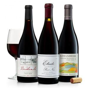 Trio of California & Oregon Pinot Noirs