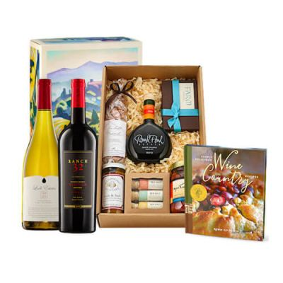 Wine Country Gourmet Wine Gift Box from Gold Medal