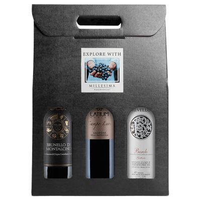 Italian wine sampler