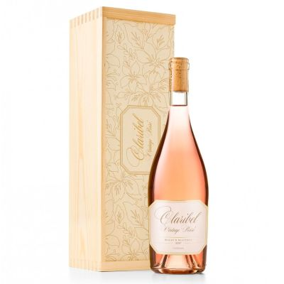 Claribel Rosé & Wine Gift Crate