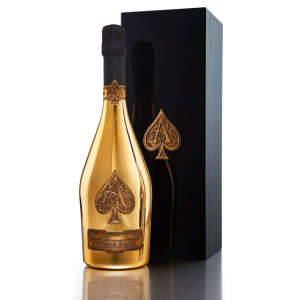 Gold Ace of Spades Brut Champagne with Gift Box