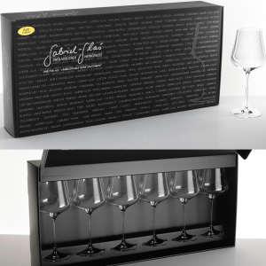 Set of 6 Gabriel-Glas Wine Glasses (StandArt Edition)