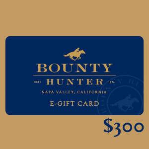 Electronic Gift Certificate for Bounty Hunter Fine Wine & Spirits