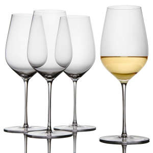 Nearly Unbreakable Crystal Wine Glasses for Any Wine