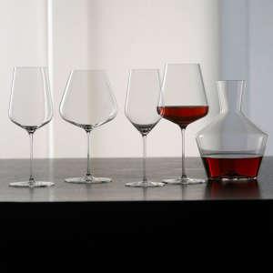 5-Piece Decanter & Wine Glass Set by Zalto Denk'Art