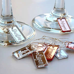 Handcrafted & Personalized Wine Charms