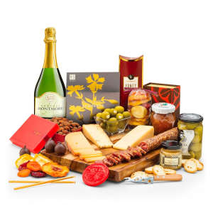 Artisan Cheese & Charcuteries with Montmore Sparkling Wine