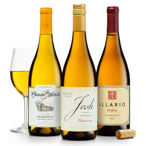 Trio of California & Washington Chardonnays