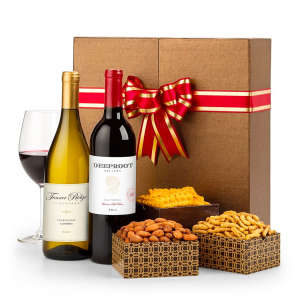 Mixed Red & White California Wine in Gift Box
