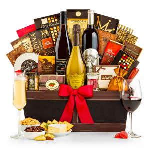 Dom Pérignon & Fine Wine Luxury Basket
