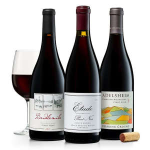 Trio of California & Oregon Pinot Noirs