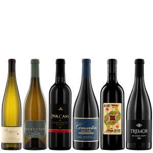 Six Bottles of Artisanal Wine from California