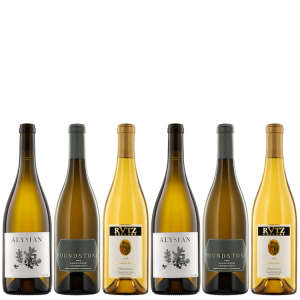 Six Bottles of California Chardonnay