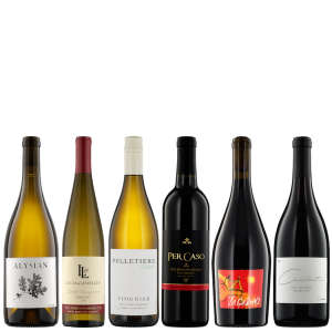 Six Bottle Collection of Artisanal Red & White Wine from California