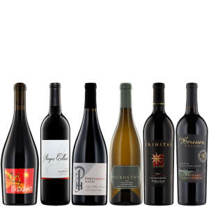 Six Bottles of Artisanal Wine from Napa Valley