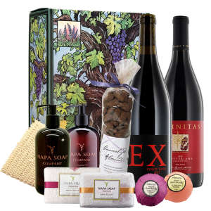 Wine & Chocolate Paired with Napa Valley Spa Gifts