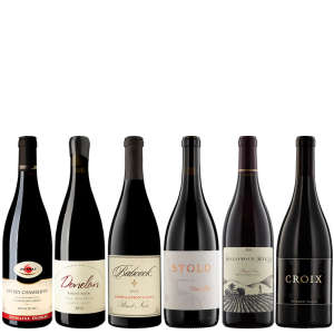 Six Bottles of Artisanal Pinot Noir from California