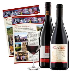 Two Bottles of Pinot Noir