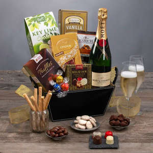 Moët & Chandon & Chocolates Champagne Gift Basket