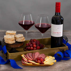 Affordable Red Wine Gift Basket