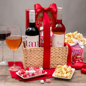 Give them a Romantic Night In — Wine & Snacks