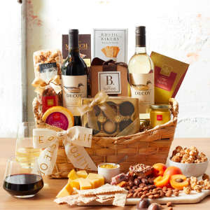 Decoy Sonoma Wine Gift Basket