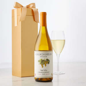 Grgich Hills Estate Napa Valley Chardonnay in a Gift Box