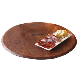 Personalized Barrel-Top Lazy Susan — Great Hostess Gift