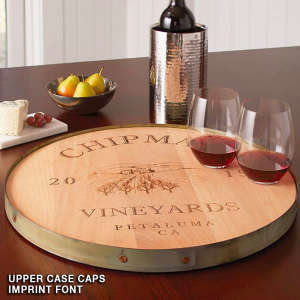 Personalized Lazy Susan — Perfect for Entertainers