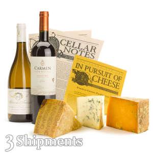 Wine & Cheese Club / 3-Month Wine Club Gift