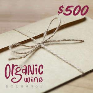 Digital Gift Card for Organic Wine Exchange