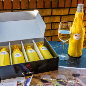 White Wine Blind Tasting Kit — Half Bottles