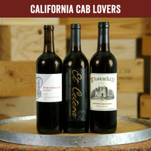 Cabernet Lovers Three Bottle Wine Tasting Set