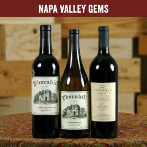 Napa Valley Gems Three Bottle Wine Tasting Set