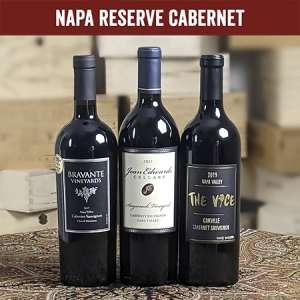 Reserve Napa Valley Three Bottle Wine Set