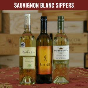 Sauvignon Blanc Sippers Three Bottle Wine Set