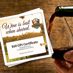 Electronic Gift Certificate for The California Wine Club