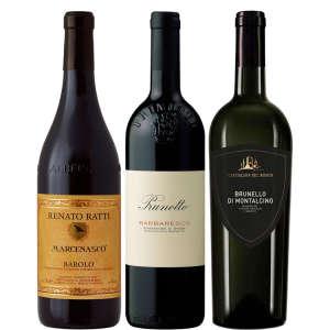 93-point Classic Italian Red Wine Trio