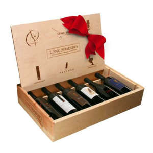 Long Shadows Red Vintner's Collection Box