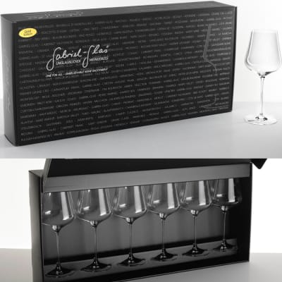 Set of 6 Gabriel-Glas Wine Glasses (StandArt Edition)